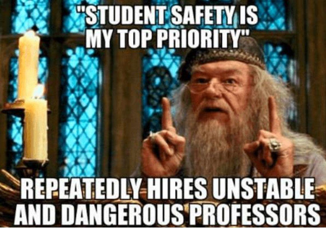 Harry Potter professor meme