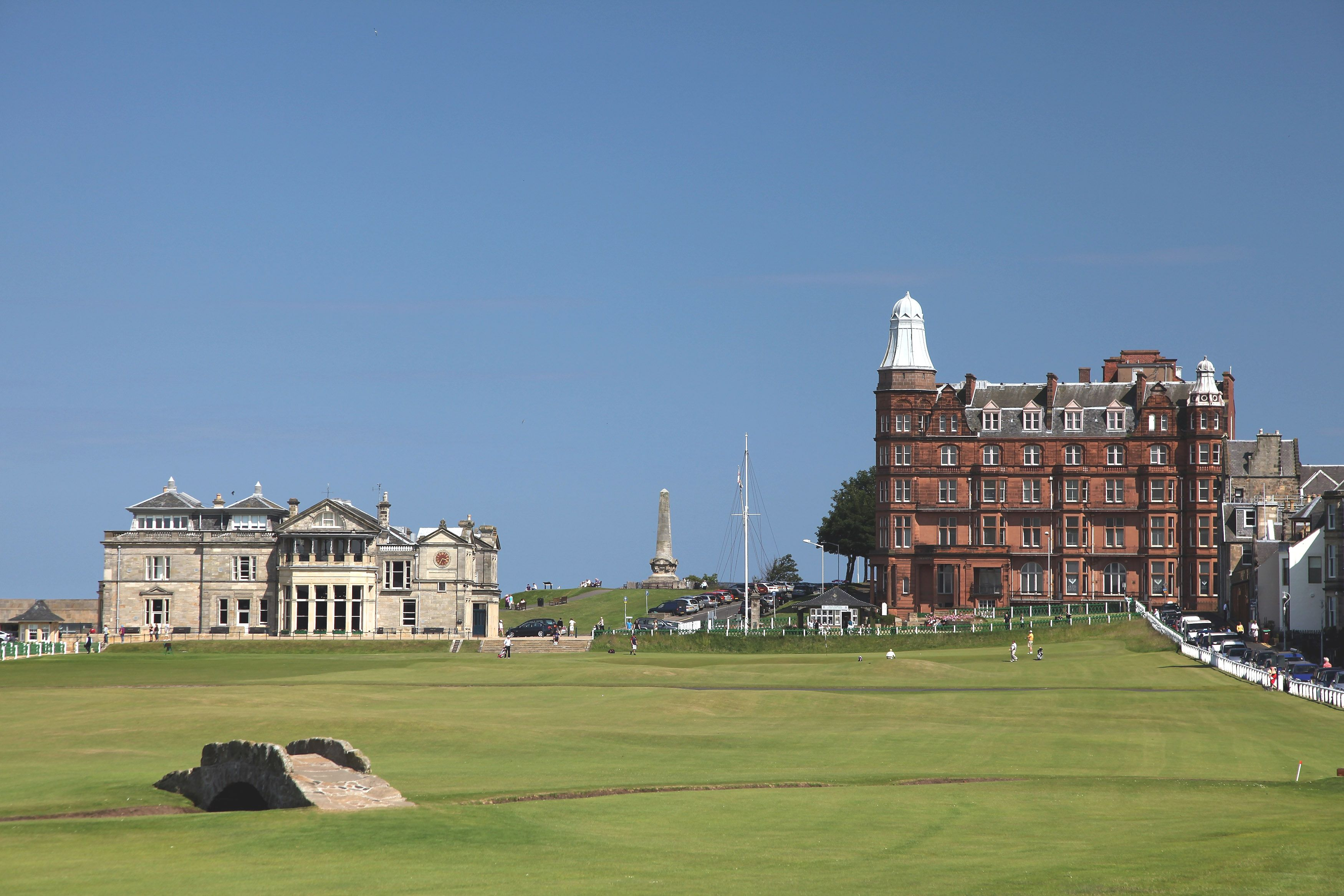 Old Course at St. Andrews Hole 18