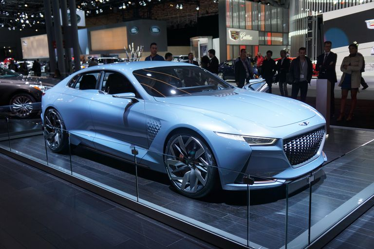 Genesis New York Concept at the 2016 New York Auto Show