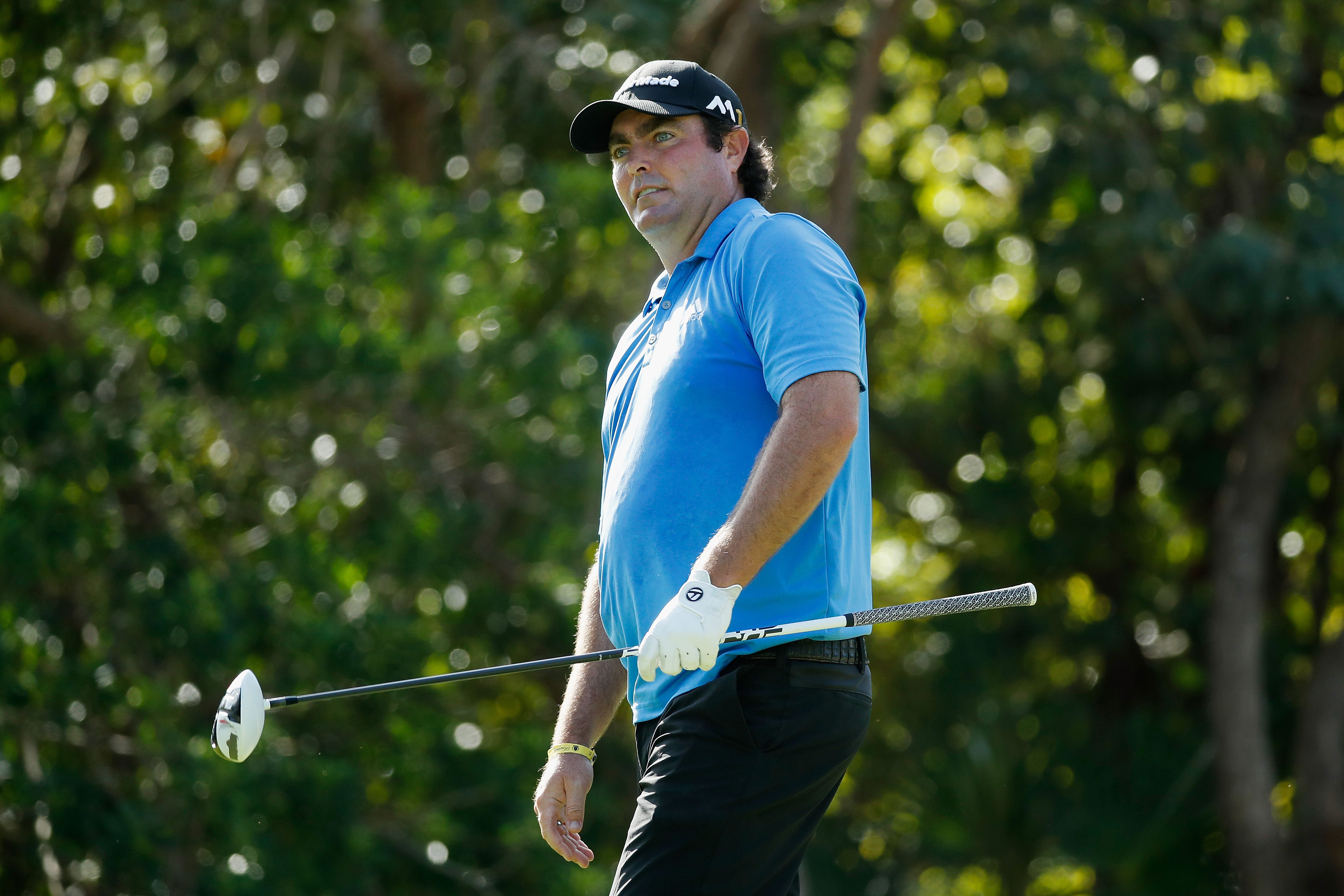 Golfer Steven Bowditch at the 2016 OHL Classic at Mayakoba