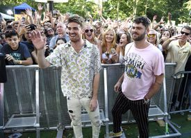 The Chainsmokers Perform On ABC's 'Good Morning America'