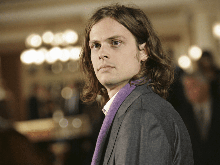 Actor Matthew Gray Gubler from 'Criminal Minds'