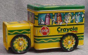 Crayola Tin Bus 1999