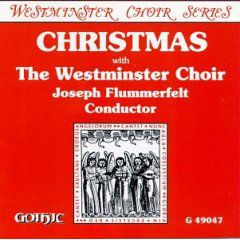 Christmas with the Westminster Choir cover