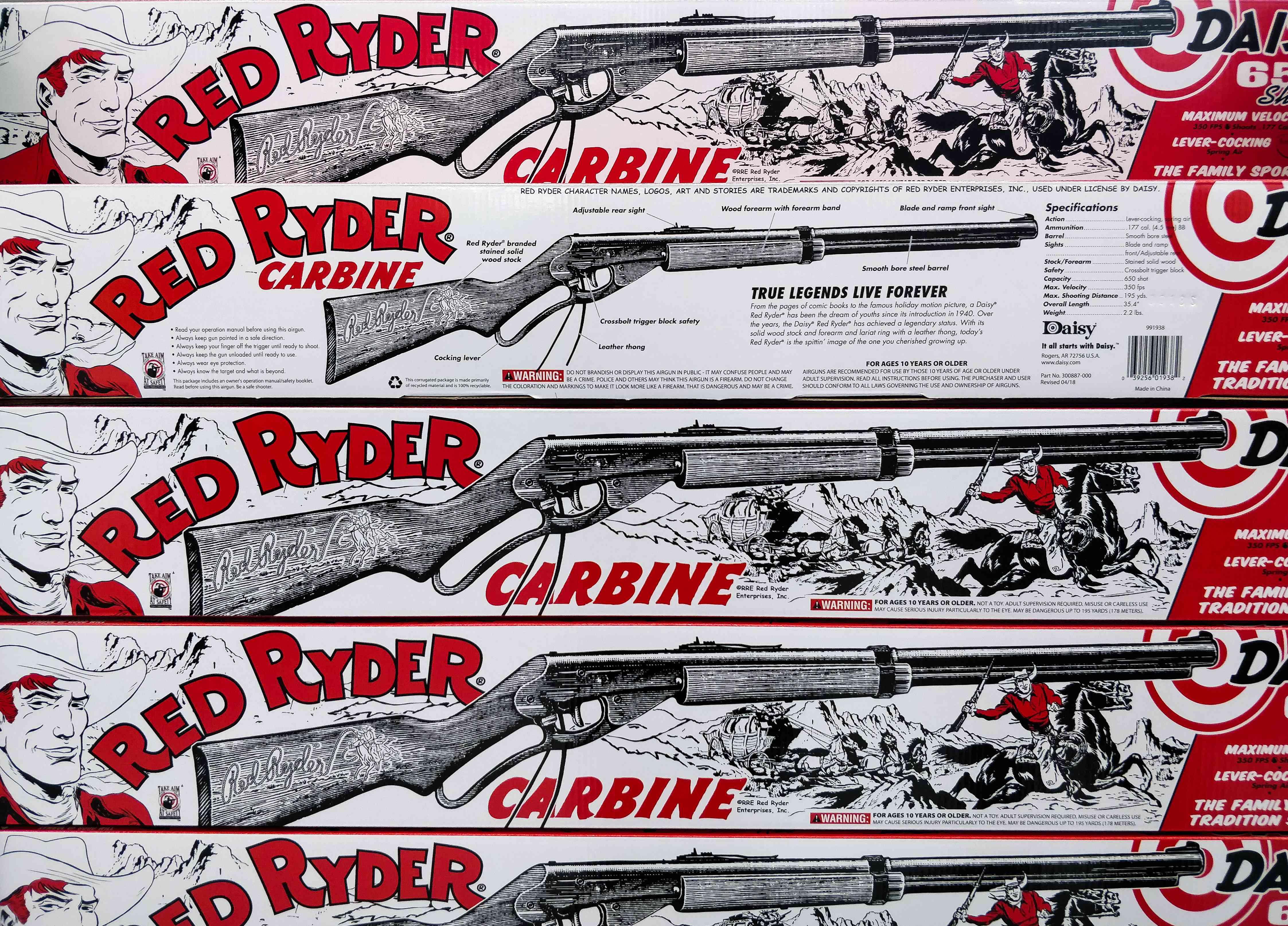 Red Ryder guns