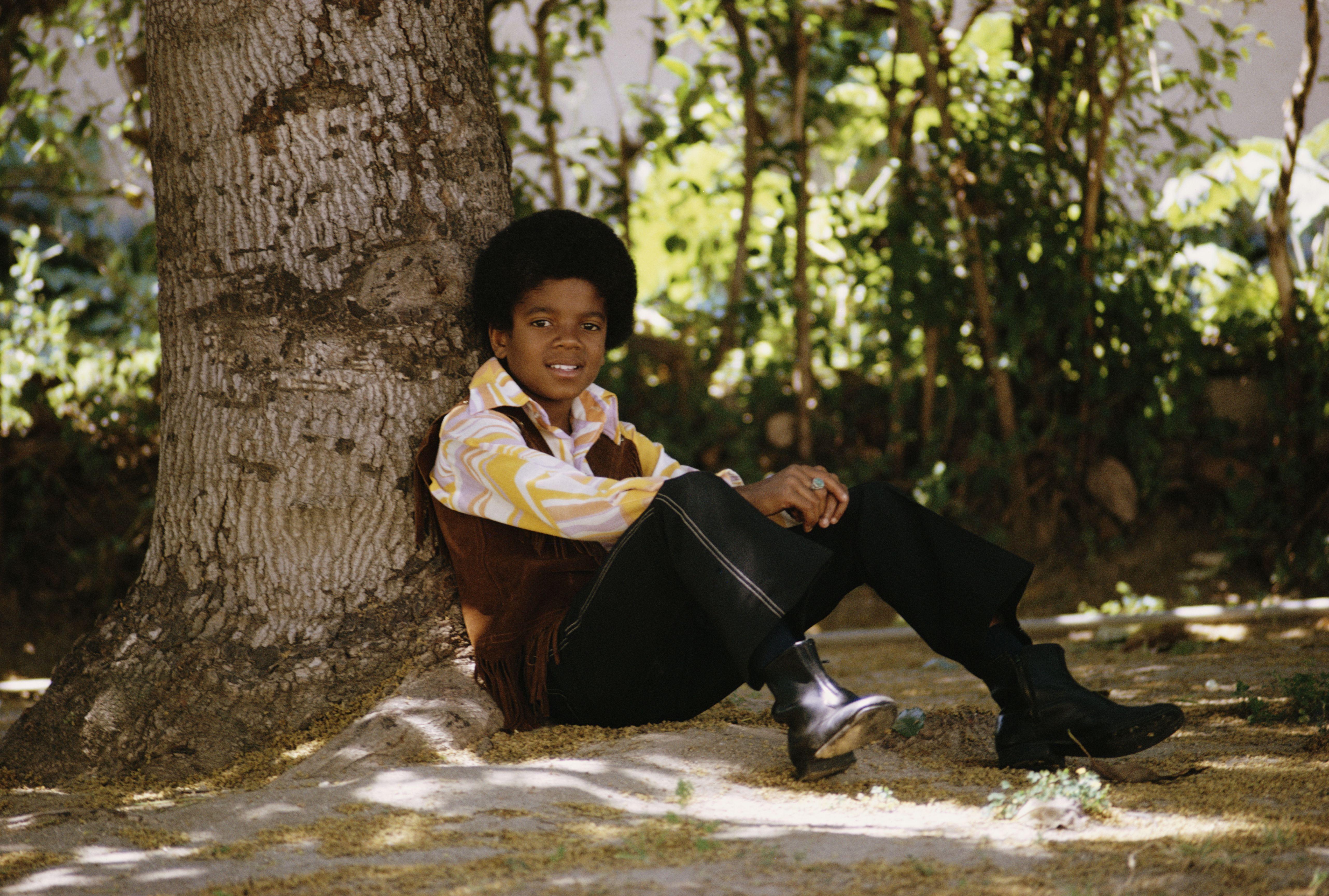 Michael Jackson as child