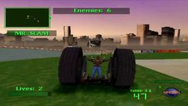 Twisted Metal on PS1