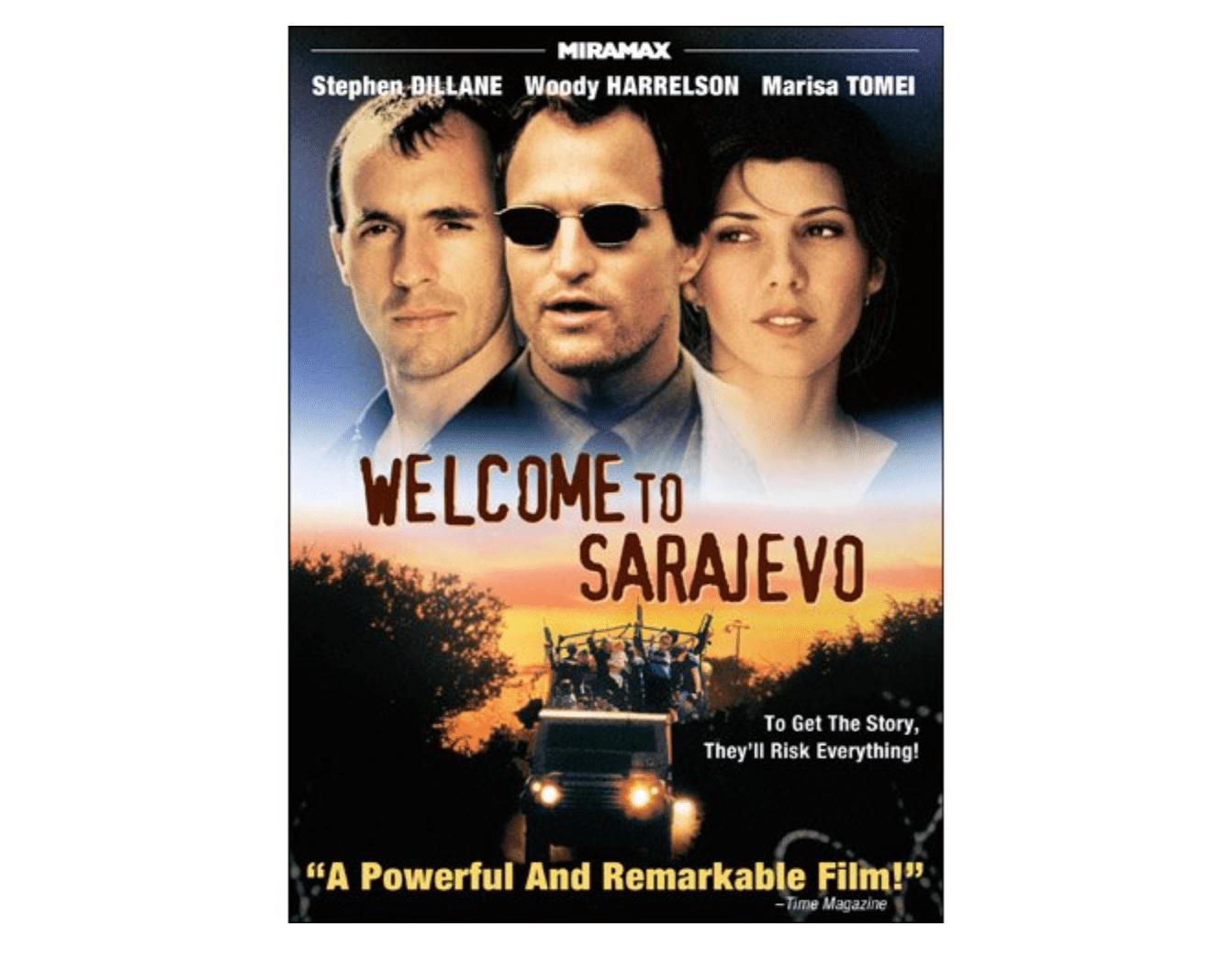 Welcome to Sarajevo movie cover