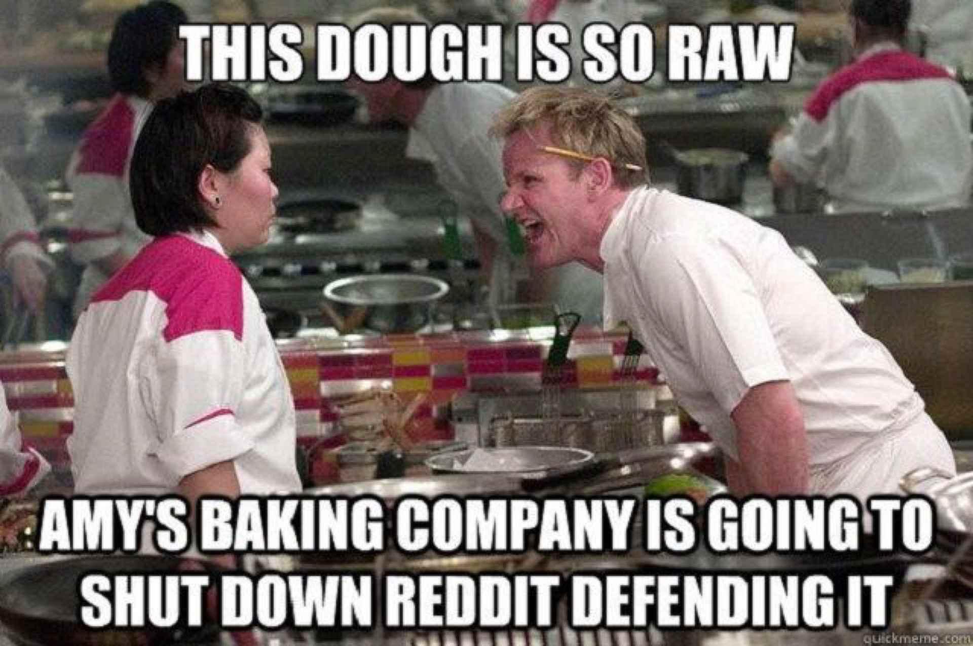 Meme of Gordon Ramsey yelling at a woman.