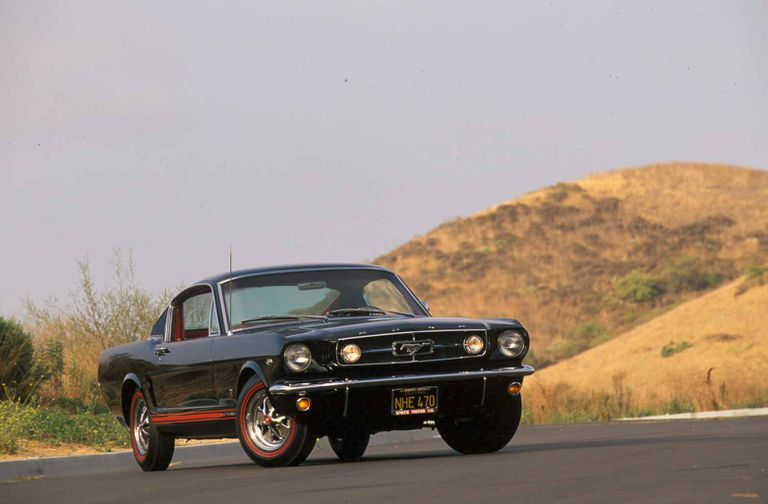 Profile of the 1966 Ford Mustang