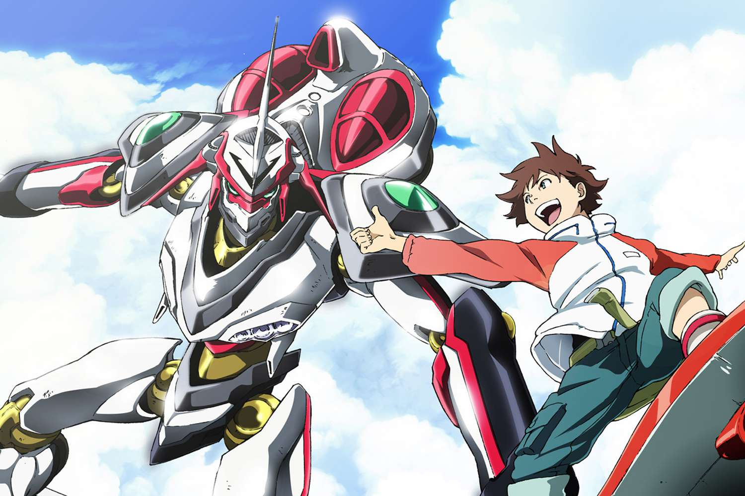 Anime Alien Girl 19 must-see anime series with giant robots