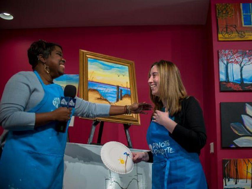 HGTV Host Tiffany Brooks Surprises the 2017 HGTV Dream Home Winner