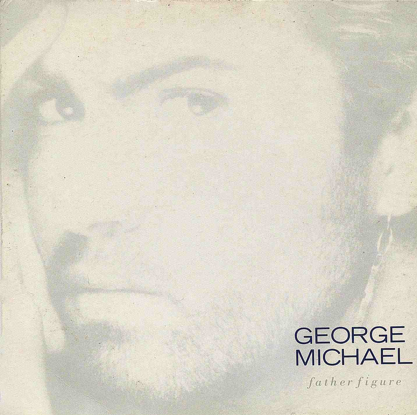 """One of George Michael's loveliest singles, """"Father Figure"""" also was quite controversial. Single cover"""