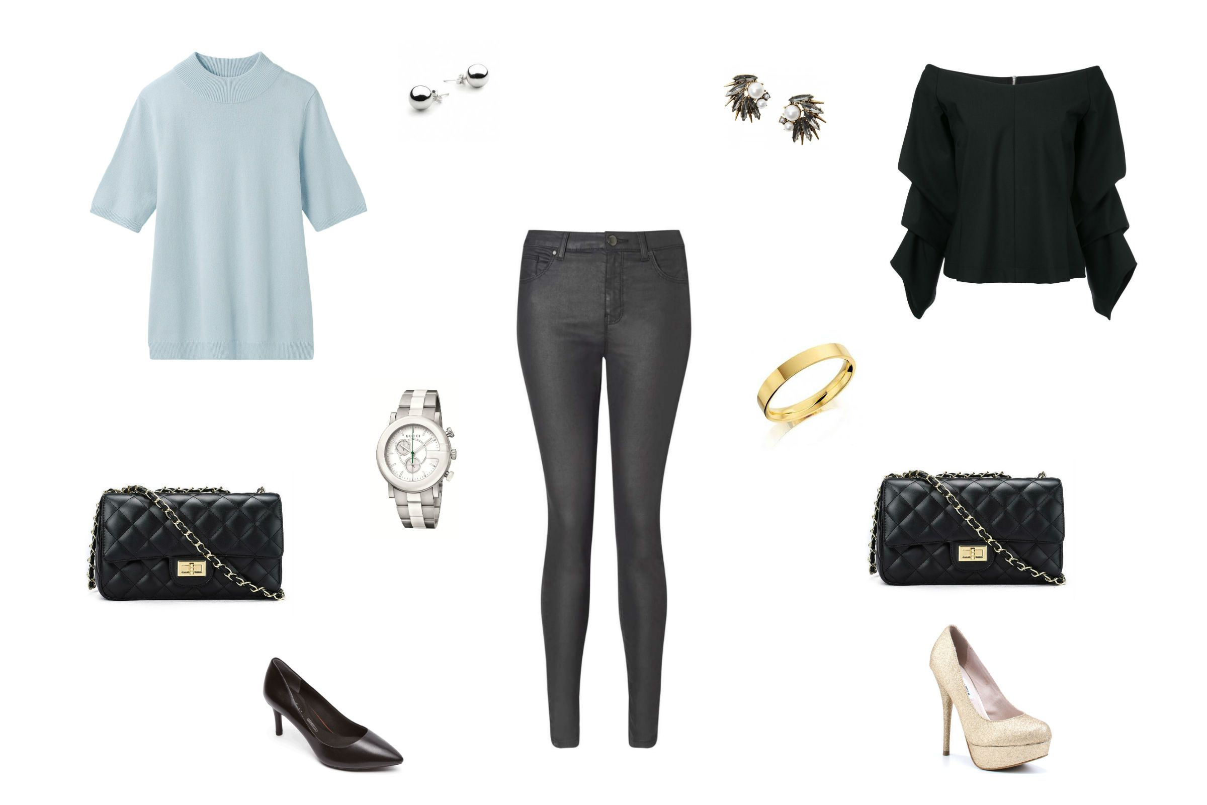 baa8593ff5 10 Ways to Dress Up Jeans for a Night Out