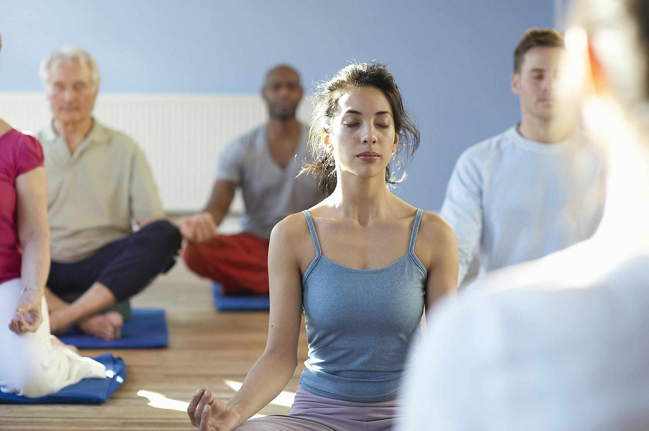 Meet Single Parents at Yoga