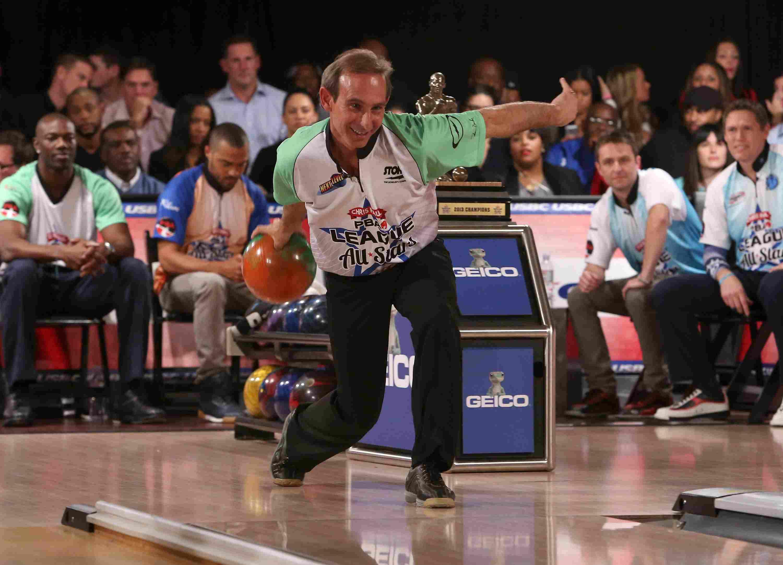 Norm Duke at the 2013 Chris Paul PBA League All-Stars Invitational Bowling Tournament