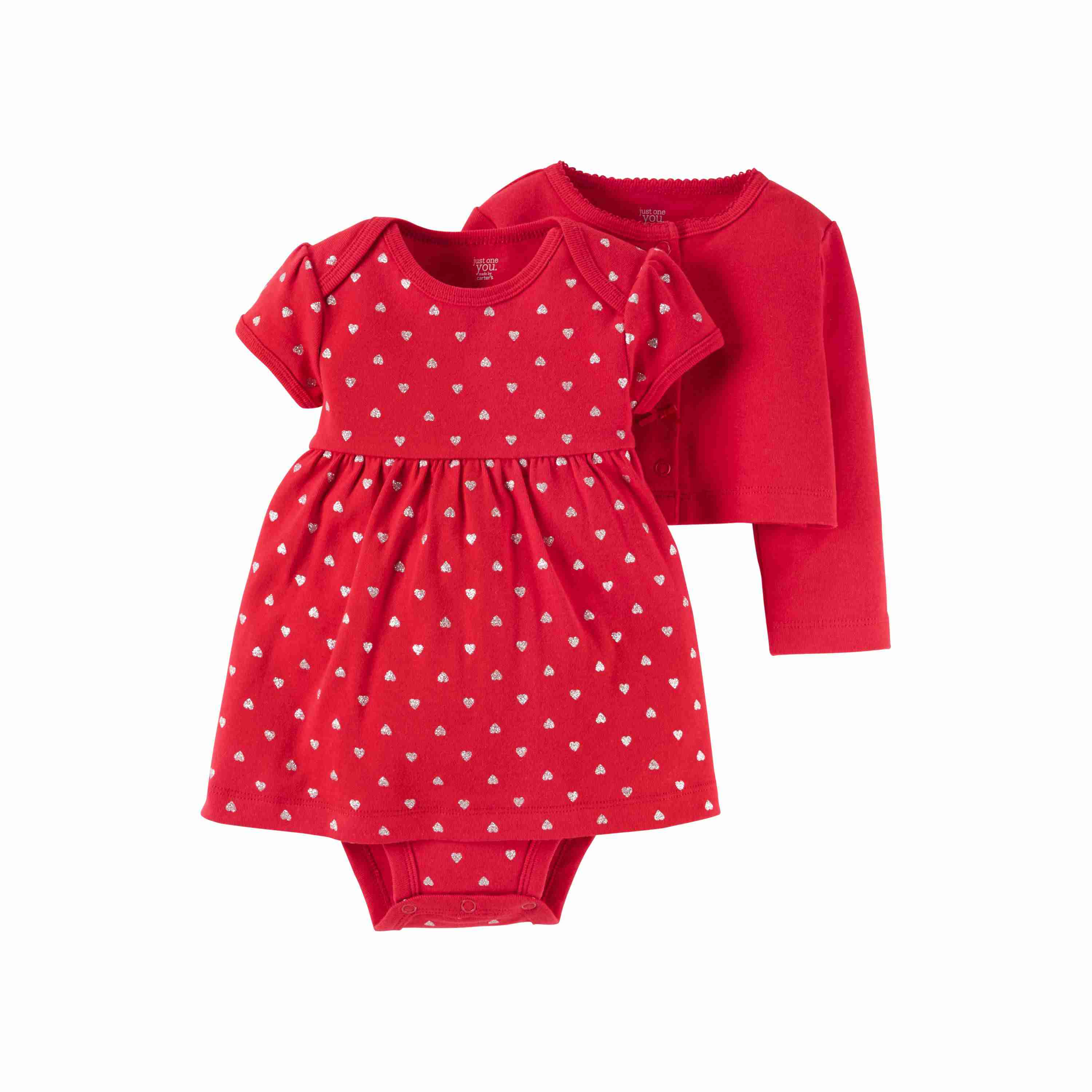 66cbe8846 Baby Girls' 2-Piece Dress Set Red by Just One You Made by Carter's at Target