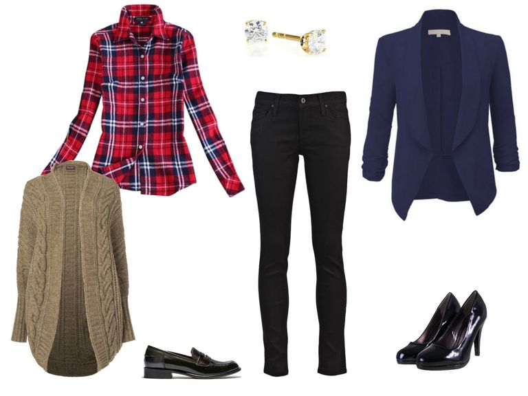 51677e200118 Cute Plaid Shirt Outfit Ideas With Jeans