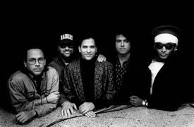 portrait of the band Toto