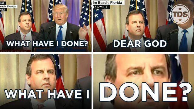 Chris Christie What Have I Done?