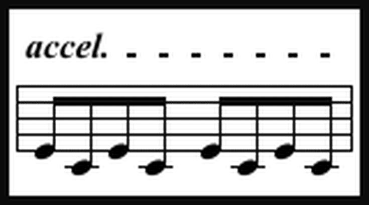 The Italian Music Term Accelerando Definition