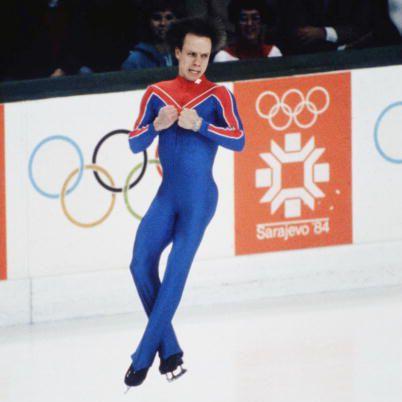 Scott Hamilton - 1984 Olympic Figure Skating Champion