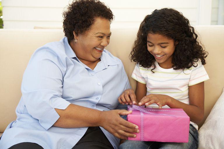 Choosing good gifts for grandchildren isn't always an easy task.