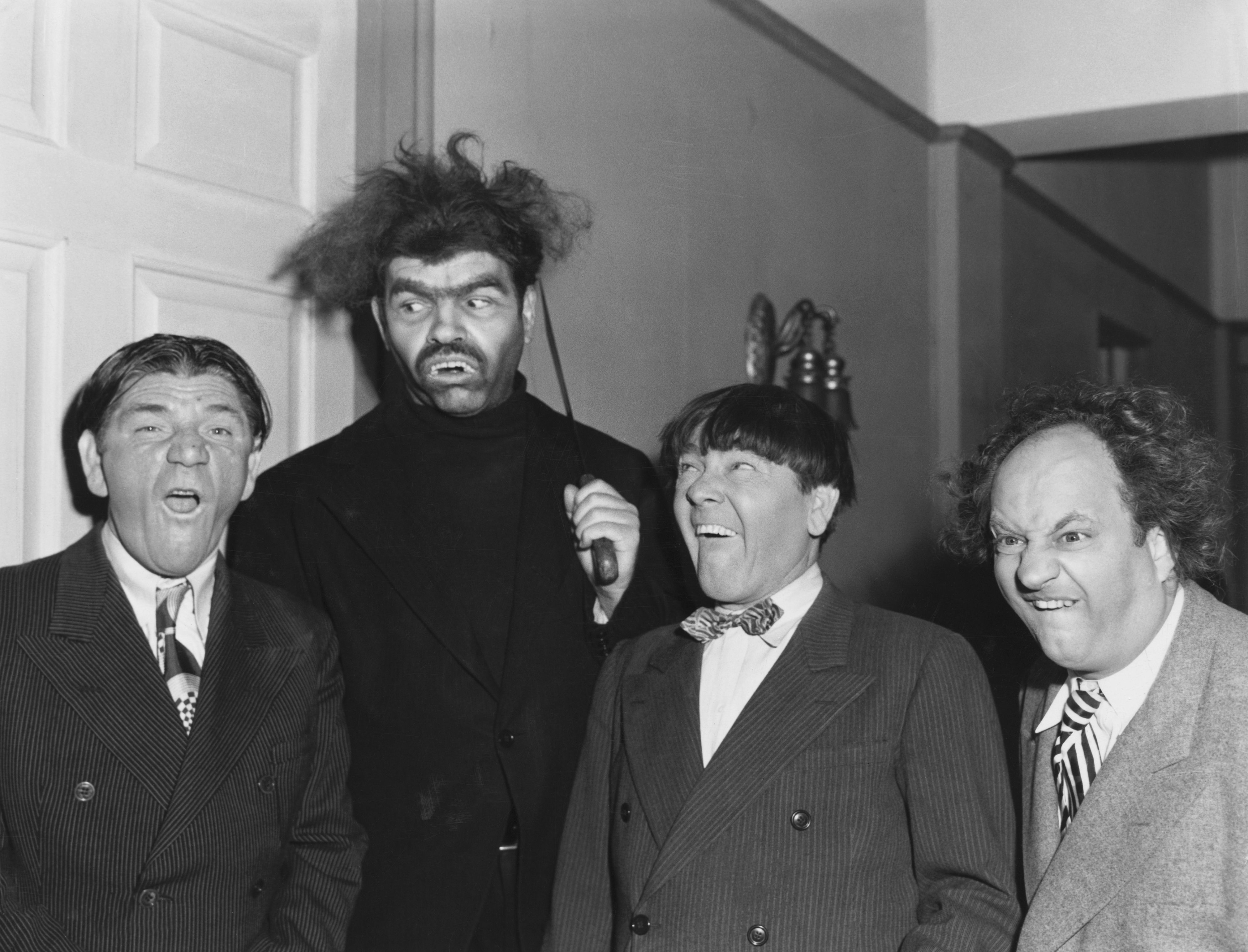Duke York with The Three Stooges