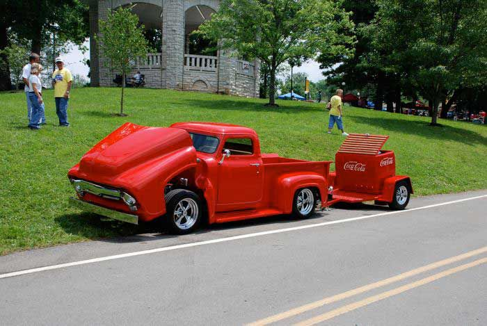 Modified Ford F-100 Pickup Truck