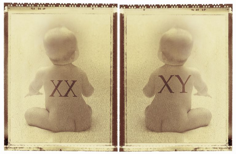 Babies with xx and xy chromosomes