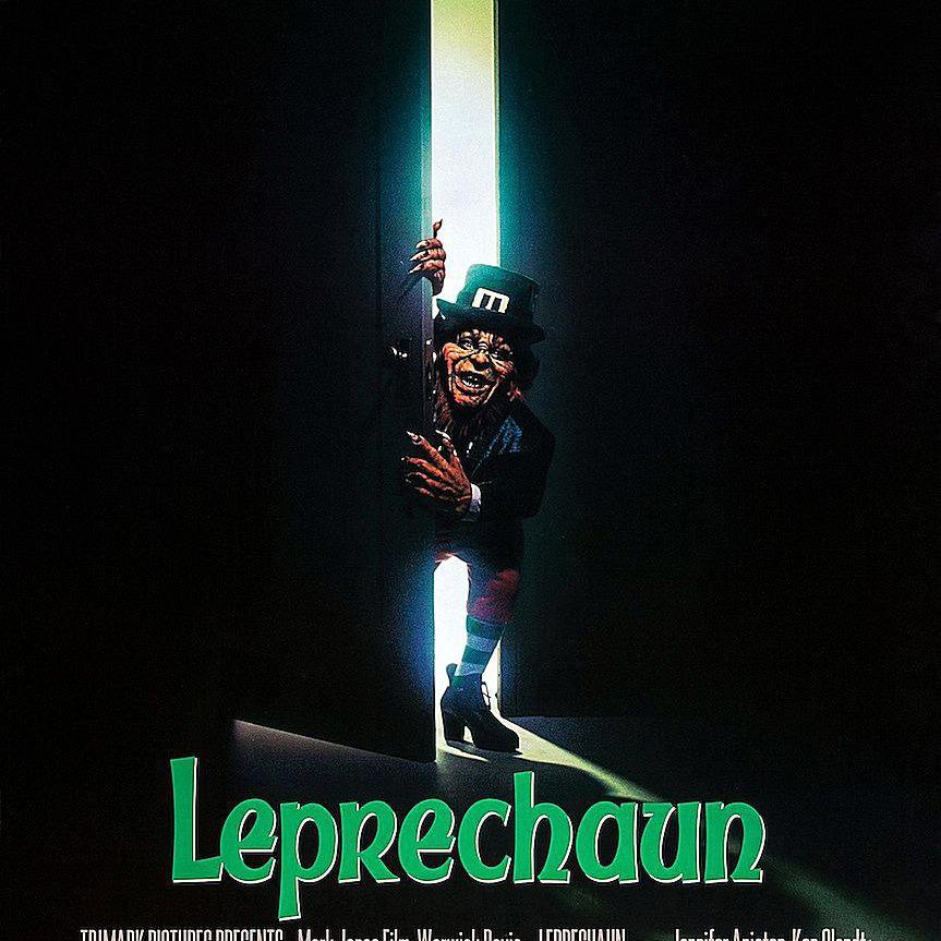 Leprechaun movie poster - holiday horror movies