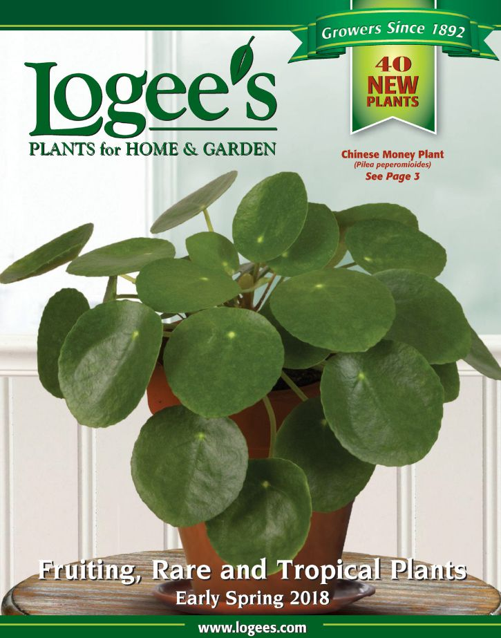 The Logee's 2018 plant catalog