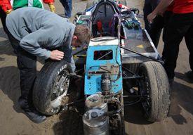 broken suspension