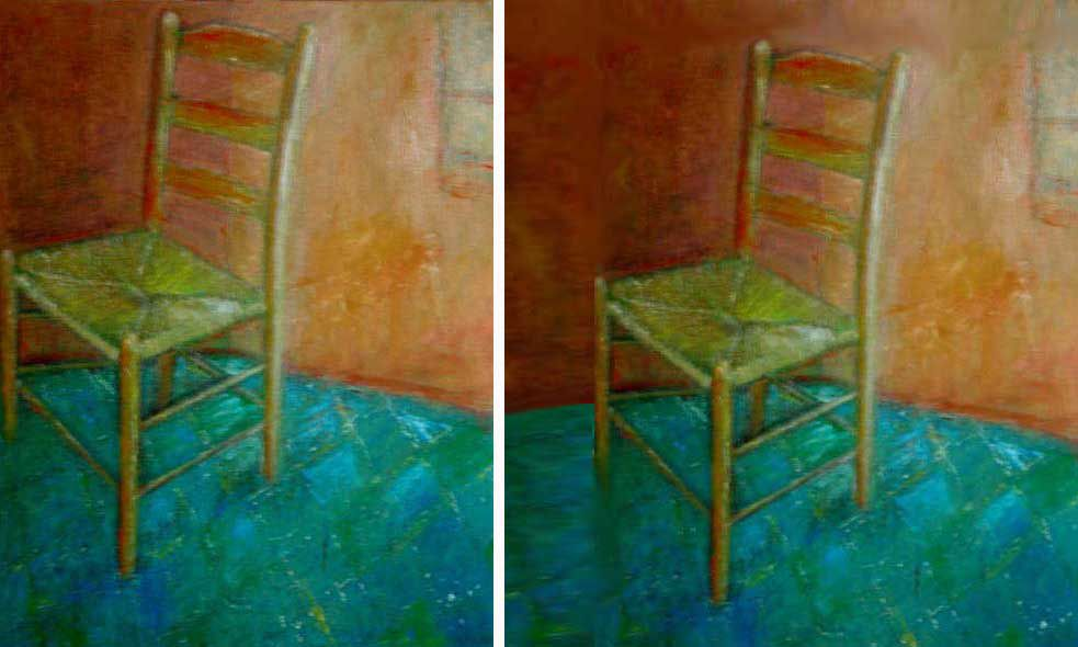Chair painting