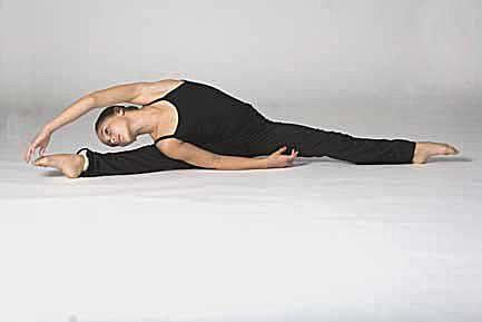 Side straddle stretch for splits