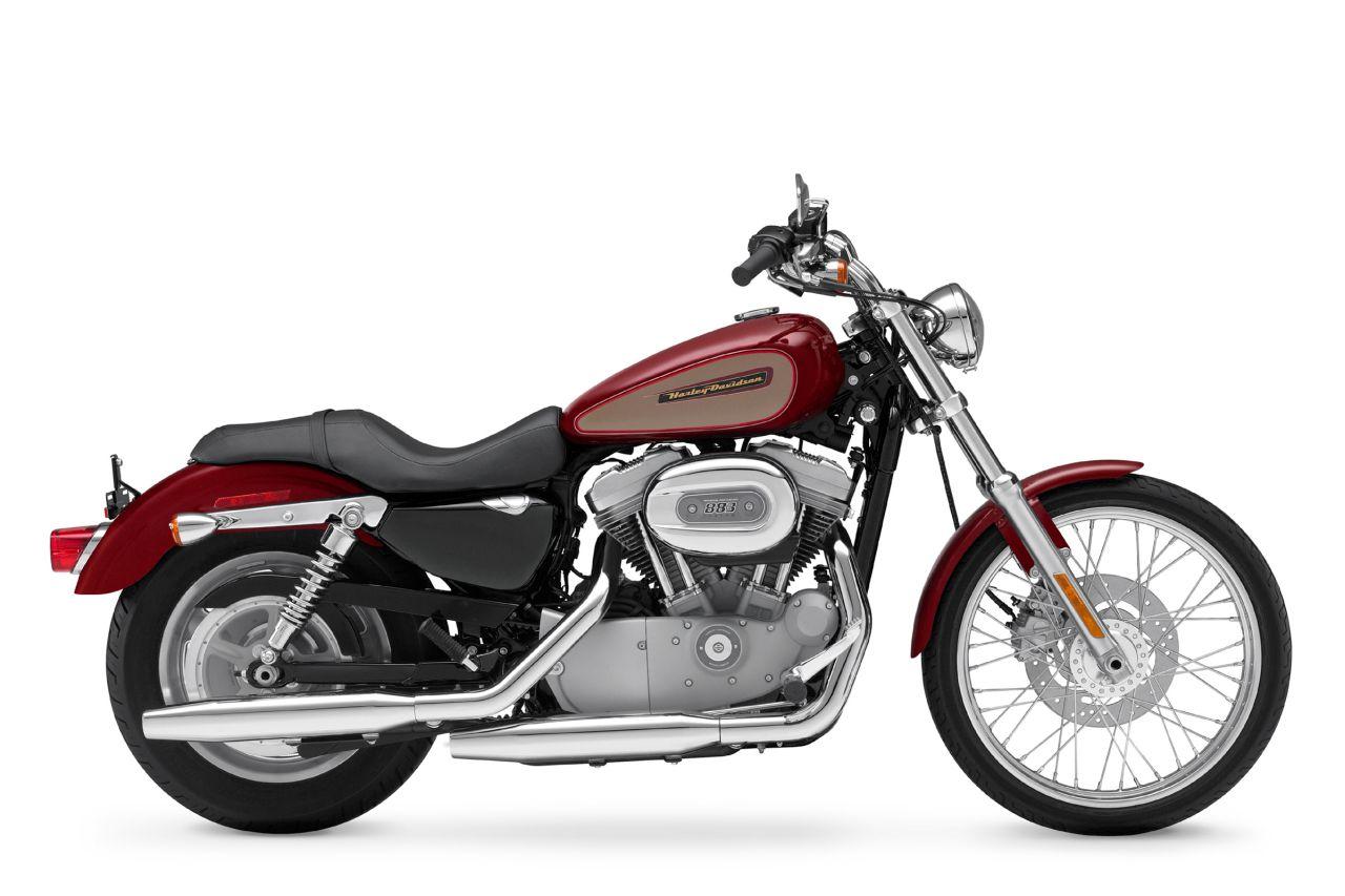 2009 Harley-Davidson Sportster XL883C Custom