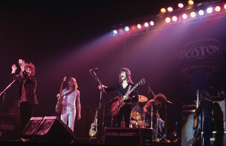Boston Performing in Long Island, New York