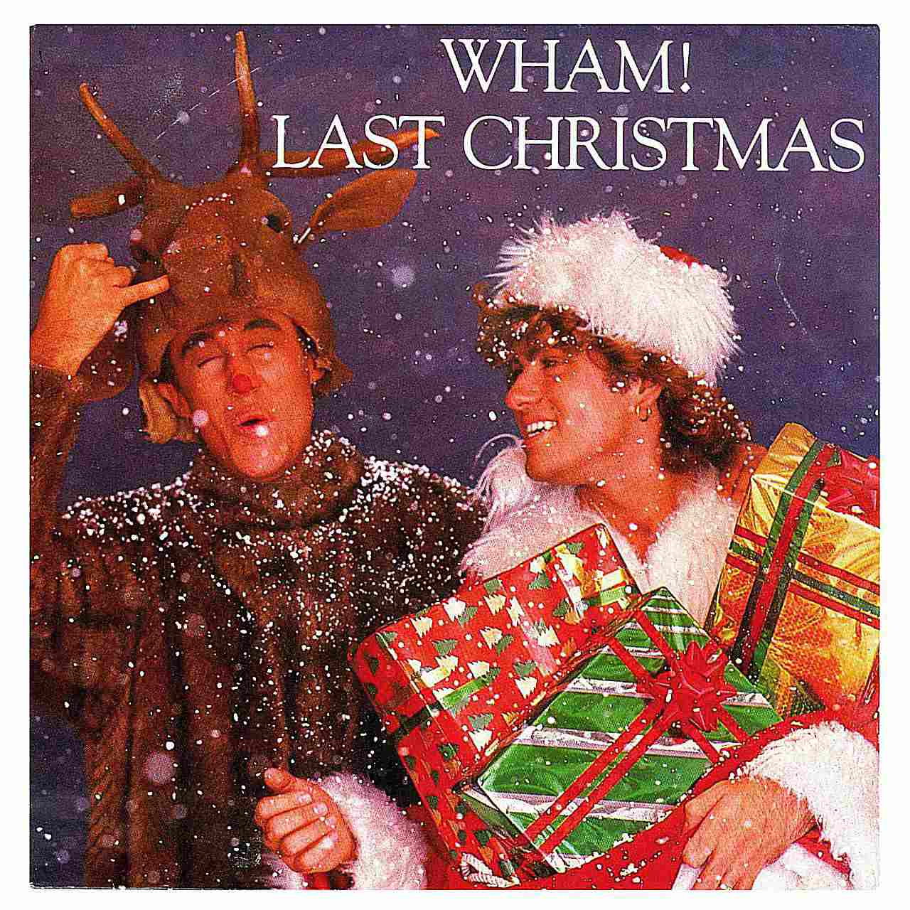 Despite the limiting nature of a Christmas song, Wham! was able to give this single a permanent place in the American holiday tradition. Single cover