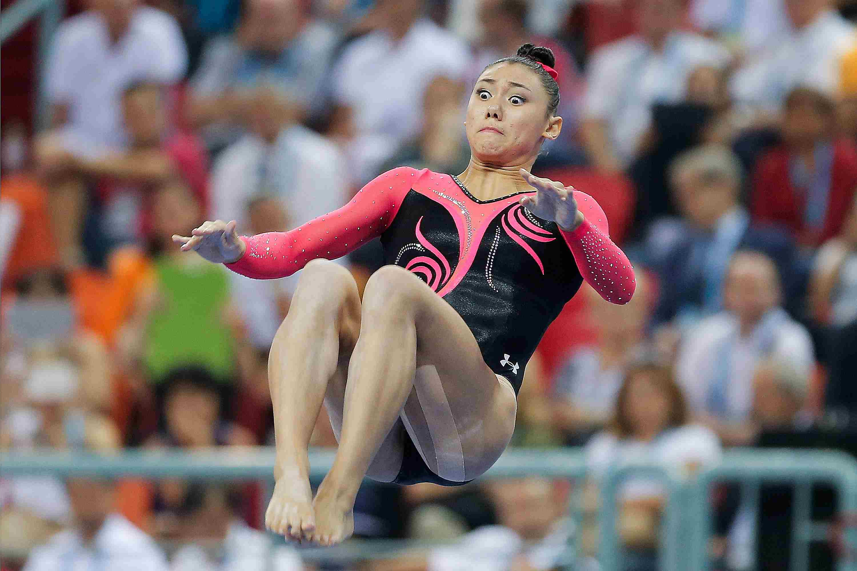 Kyla Ross 2014 Worlds Gymnastics