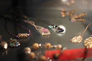 Jewelry On Table