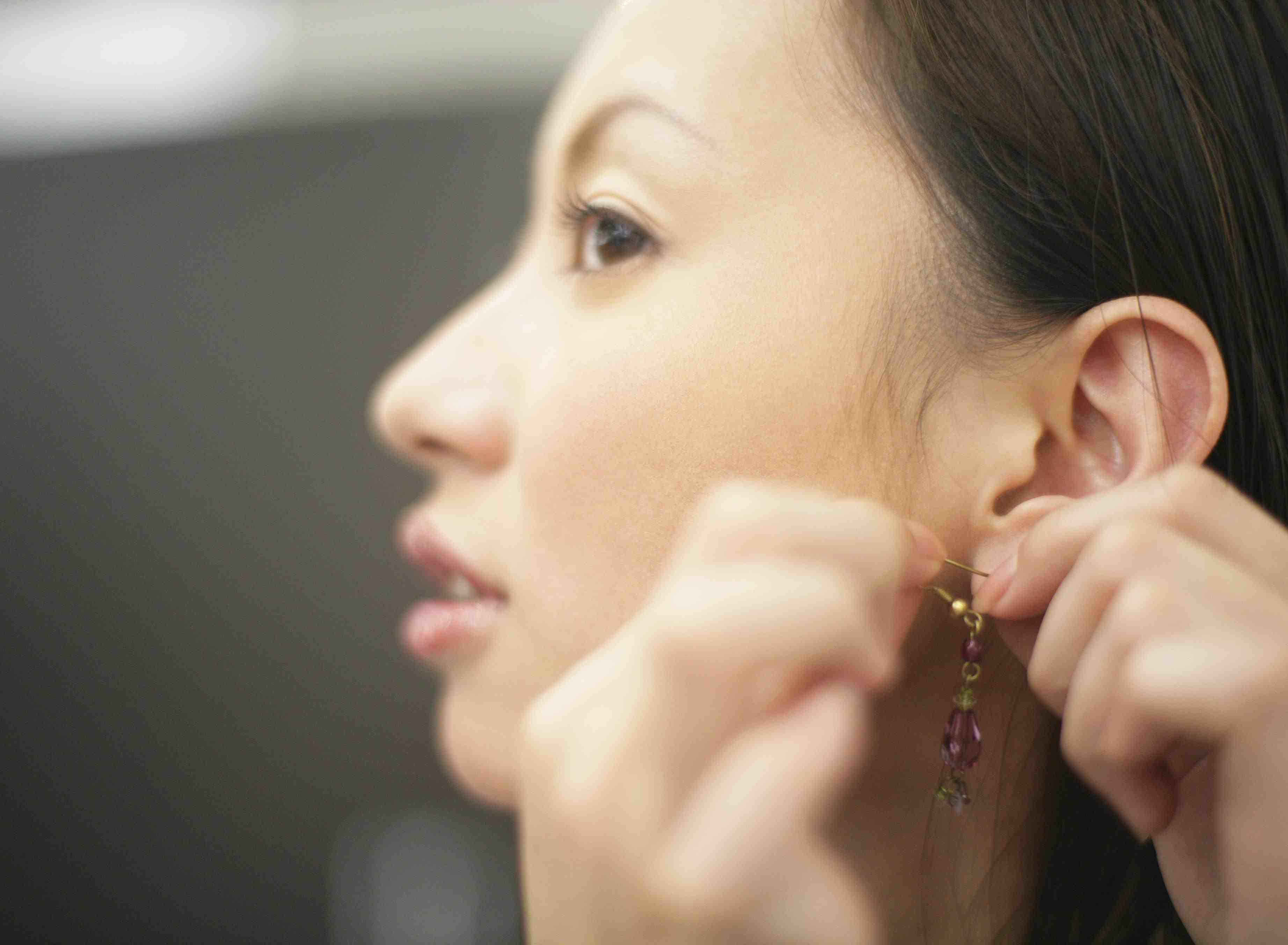 How To Keep Your Ears From Getting Infected From Earrings
