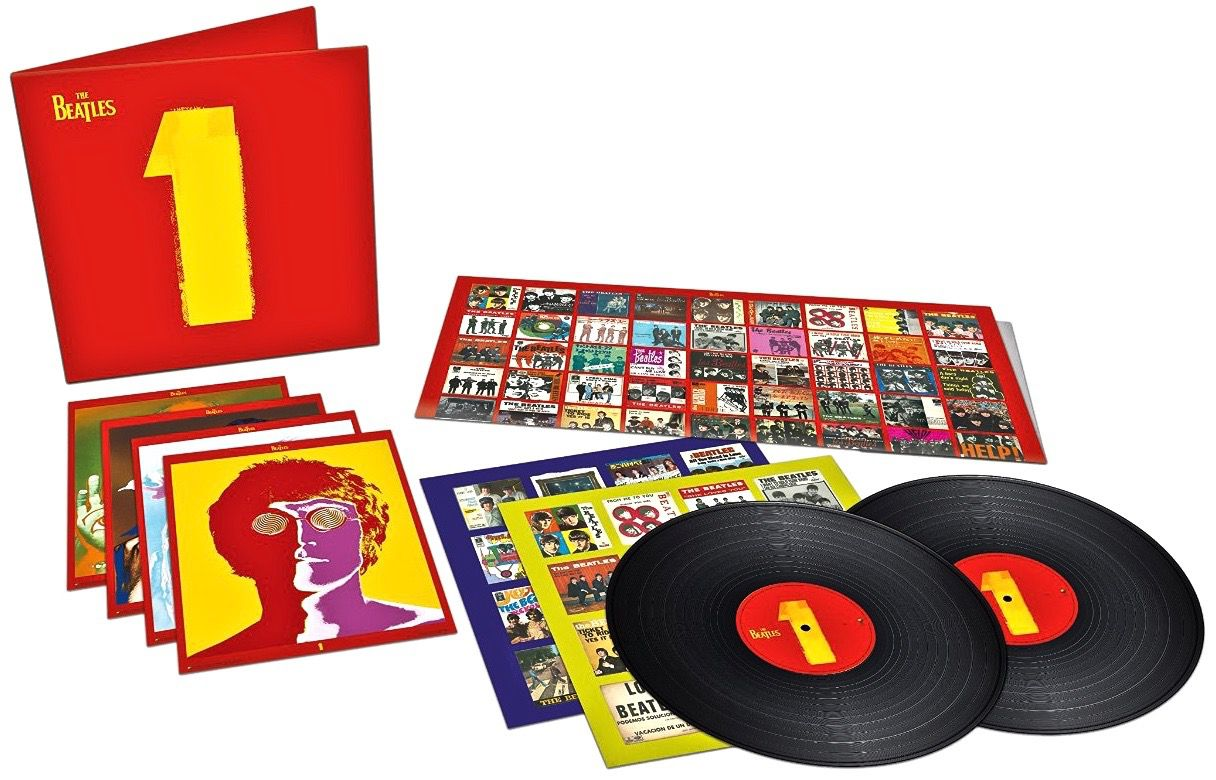 The Beatles 1 Vinyl - 2015 re-mix and remaster