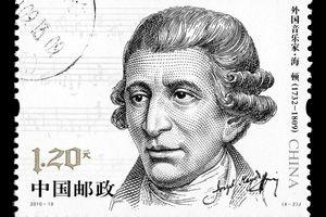 Franz Joseph Haydn on a stamp