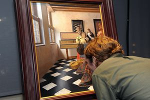 Vermeer painting used in the documentary