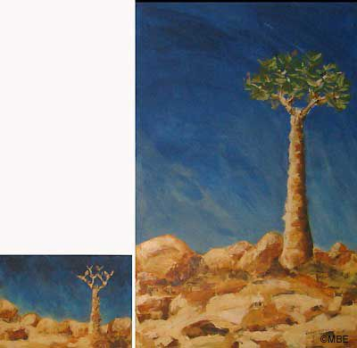 Art Myth No.5: Small Canvases are Easier to Paint than Big Canvases