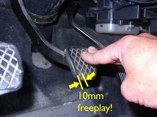 Finding the Proper Free Play in Clutch and Pedal Height