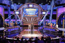 Family Feud game show set