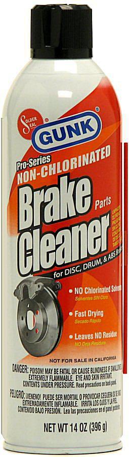 Orange Brake Cleaner