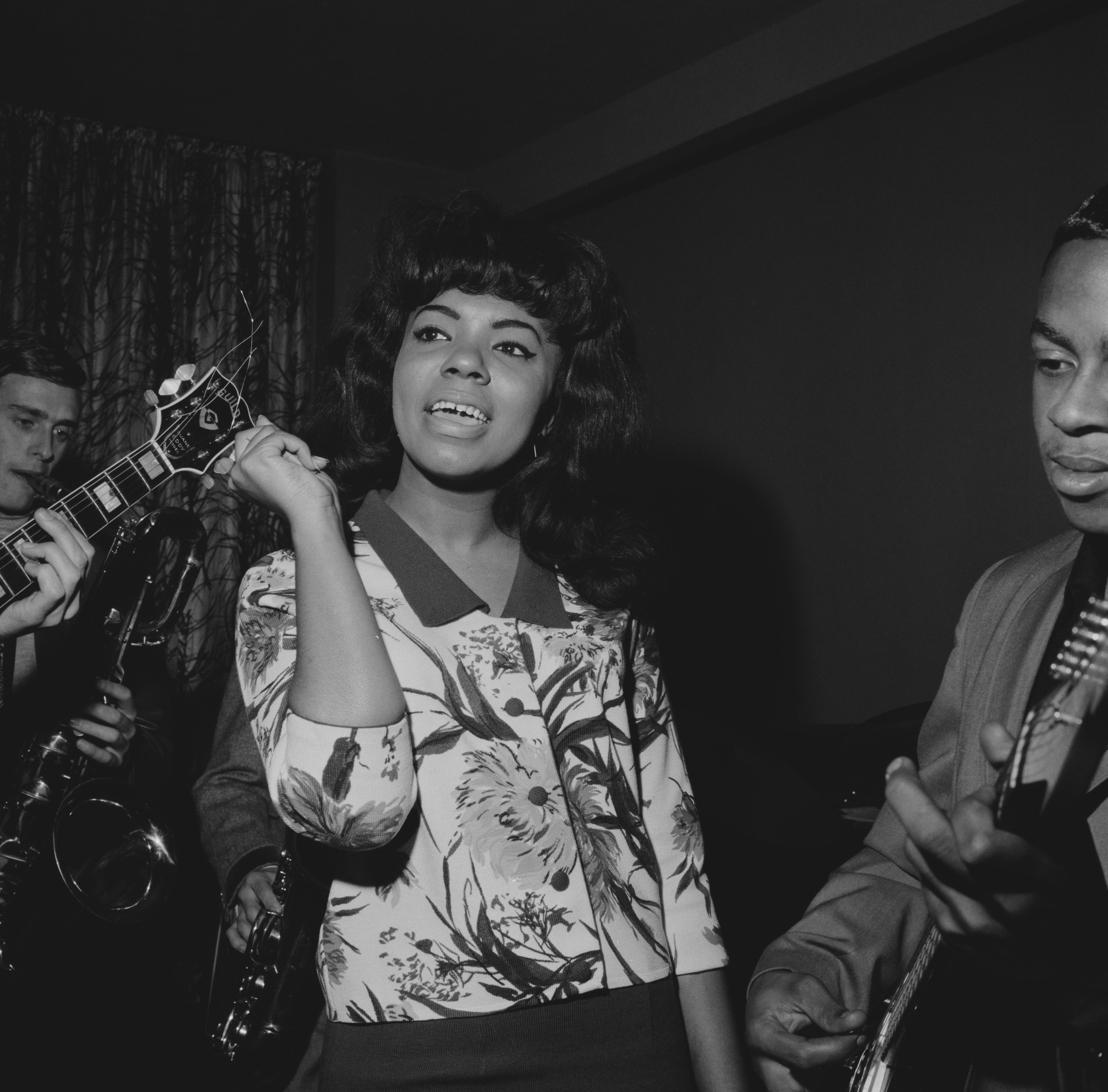 Mary Wells In London