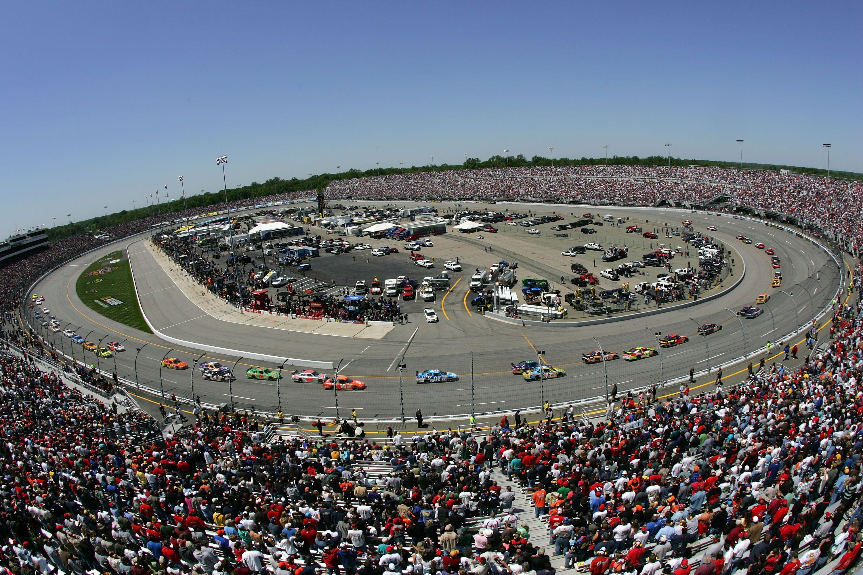 Richmond International Raceway from above